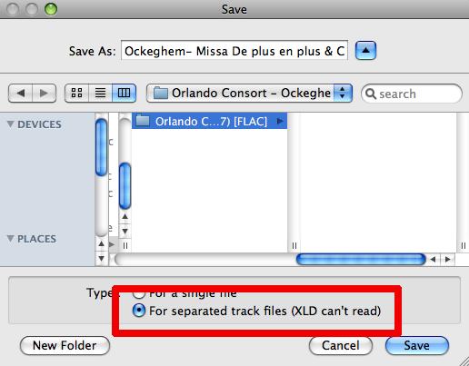 xld flac cue splitter mac