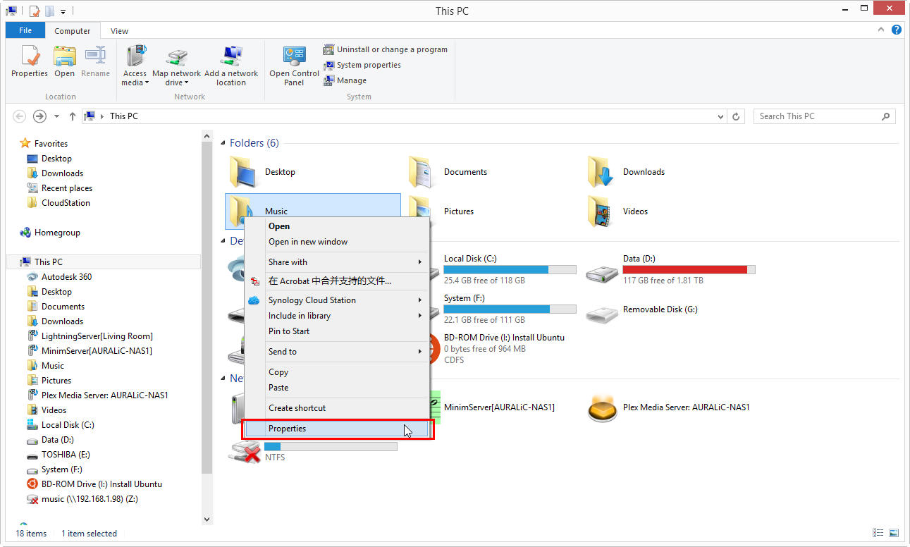 Create network shared folder on Windows 8 – AURALIC LIMITED